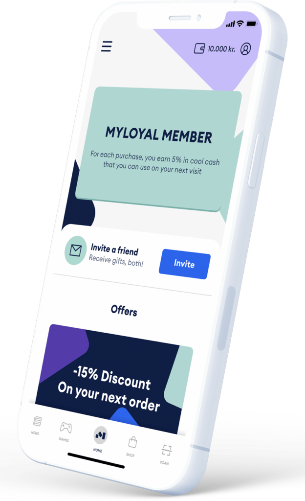 Your own loyalty app