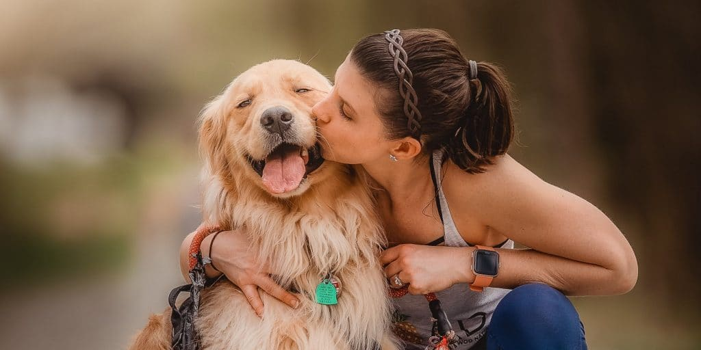 Women And Her Loyal Dog